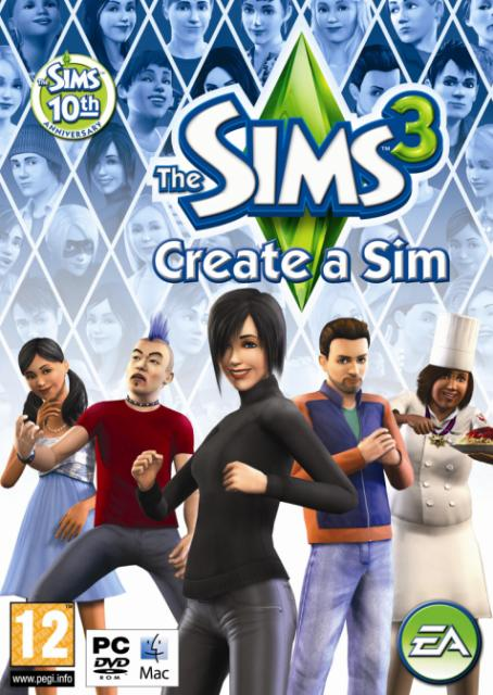 Descargar Sims 3 Create Un Sim [MULTI20] por Torrent